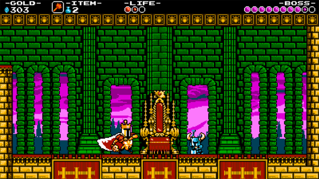 Shovel Knight Nintenbit Castillo