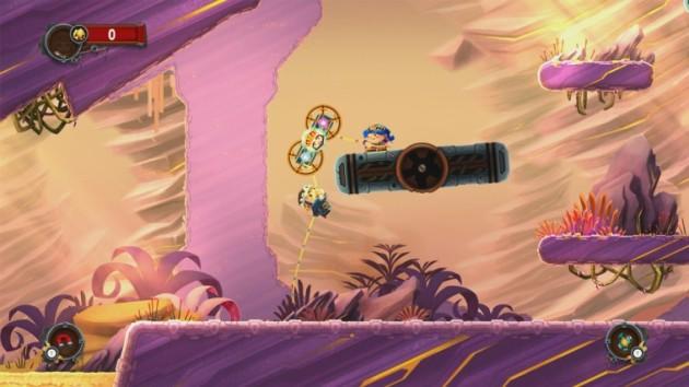 Chariot WiiU eShop Desierto