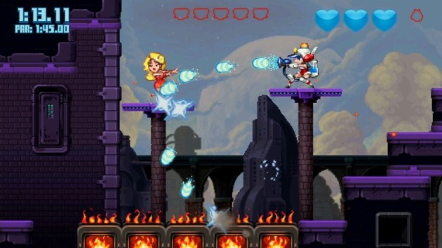 Mighty Switch Force 2 Nintenbit 2