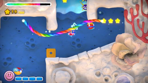 Kirby Pincel Arcoiris WiiU Nintenbit Agua copia