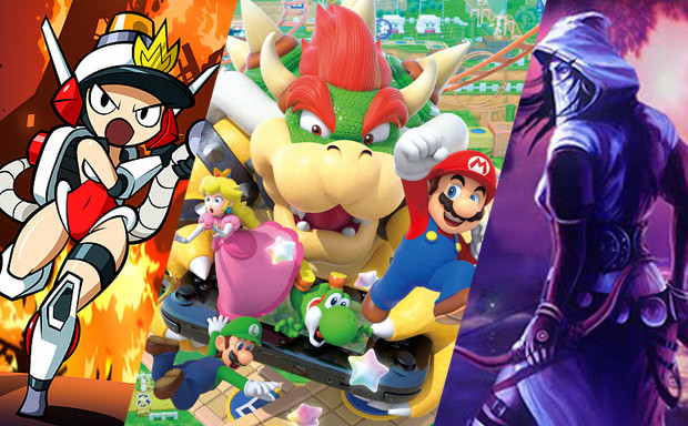 WPP86 Mario Party 10 - Trine - Mighty Switch Force 2