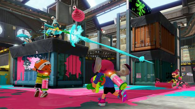 Splatoon WiiU Nintenbit Batalla