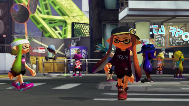 Splatoon WiiU Nintenbit Plaza
