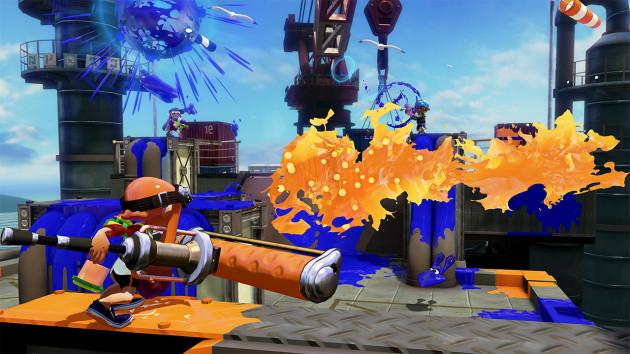Splatoon WiiU Nintenbit Rodillo