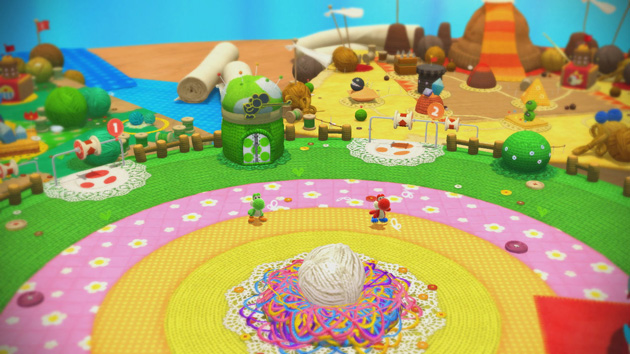 Yoshis Woolly World Nintenbit Mapa