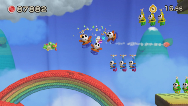 Yoshis Woolly World Nintenbit Transformacion