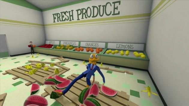 Octodad WiiU eShop Nintenbit Supermercado
