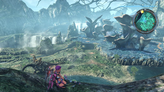 Guia Xenoblade Chronicles X Paisaje